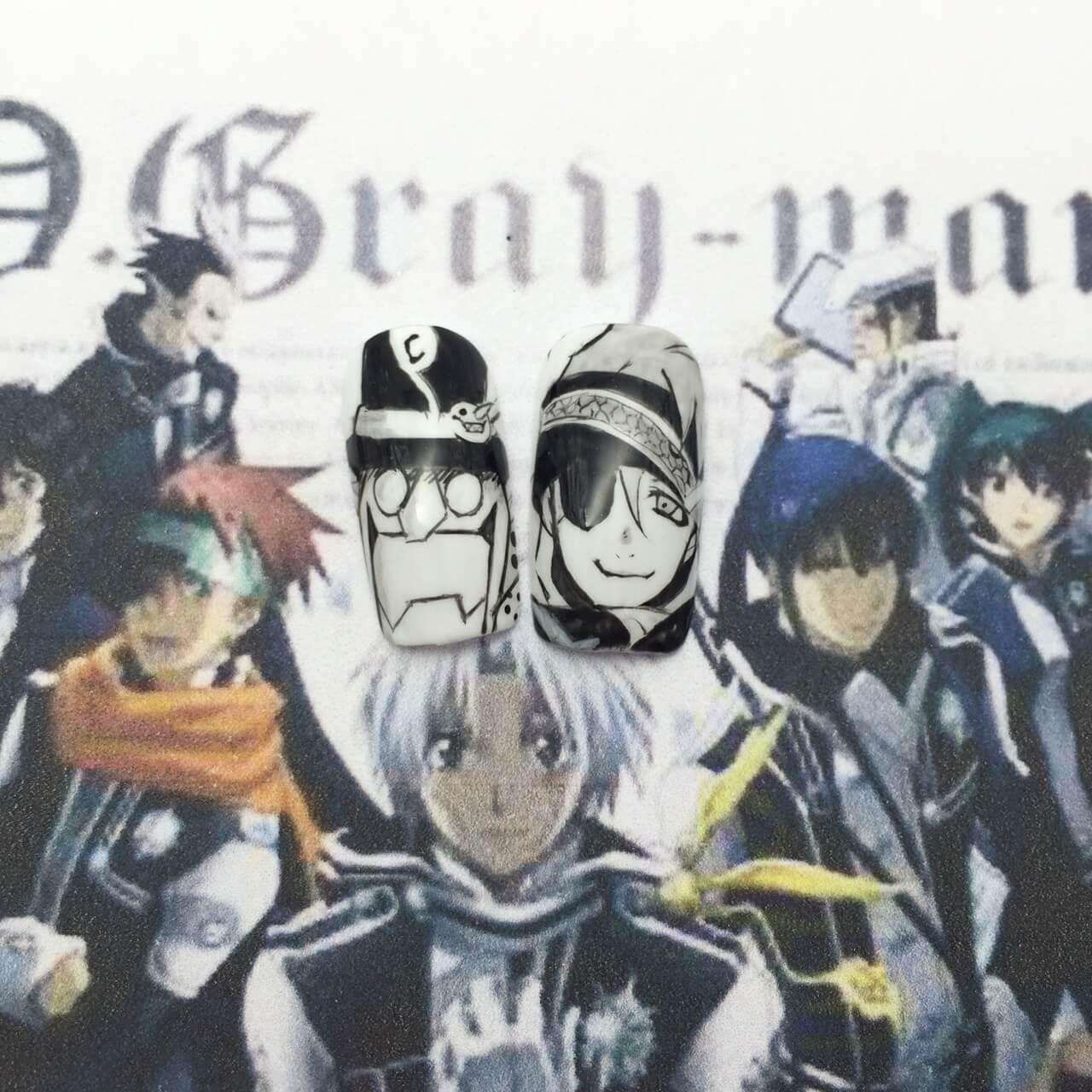 【D.Gray-manネイル】千年伯爵とラビ