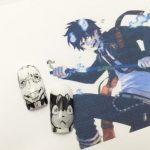 【青の祓魔師ネイル】藤本獅郎とクロ
